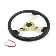 Universal Car Racing Steering Wheel 14 inch 350mm ABS Deep Dish Drifting Steering Wheel